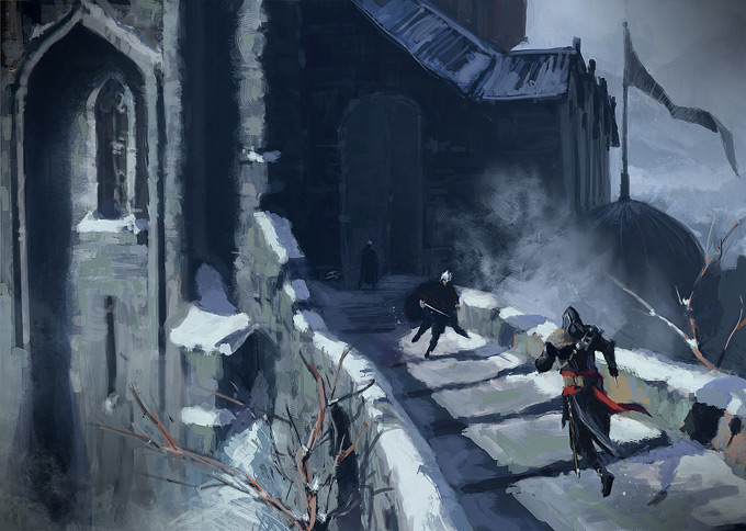 Assassins Creed concept art | Ilustracion | Pinterest | Assassins ...