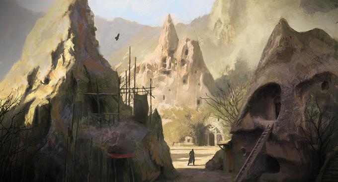 AssassinsCreed Revelations Concept Art Gilles Beloeil 23a
