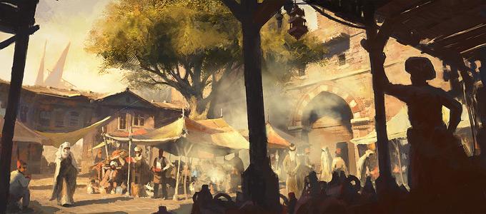 AssassinsCreed Revelations Concept Art Gilles Beloeil 27a