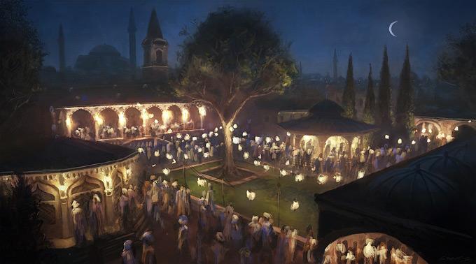 AssassinsCreed Revelations Concept Art Gilles Beloeil 28a
