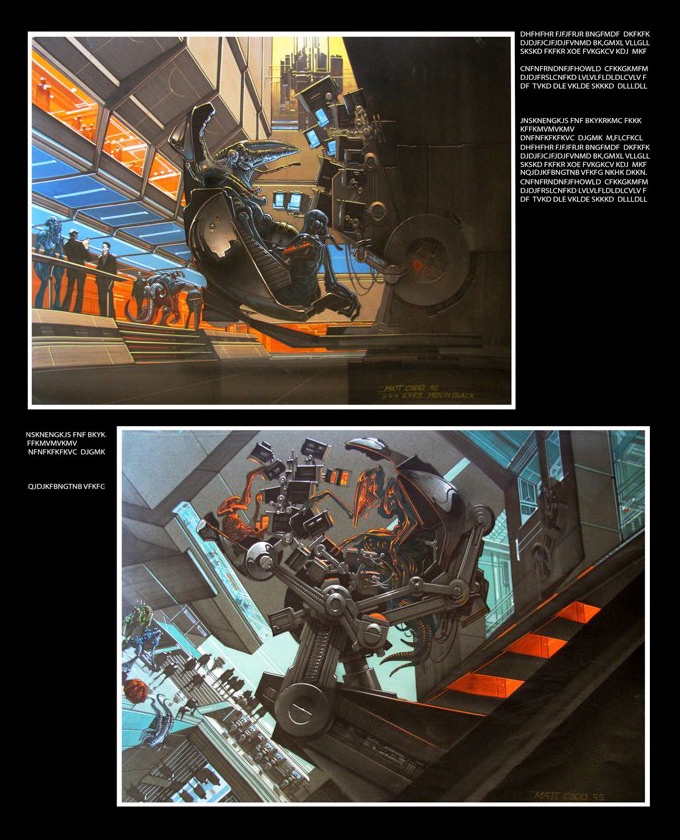 Matt Codd Concept Art and Illutration - Page