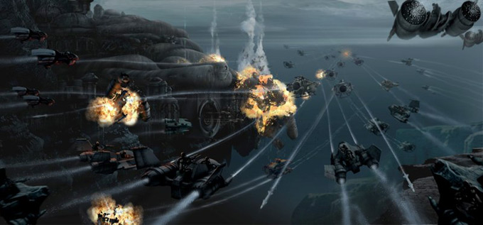 Matt Codd Concept Art and Illutration - Space Battle