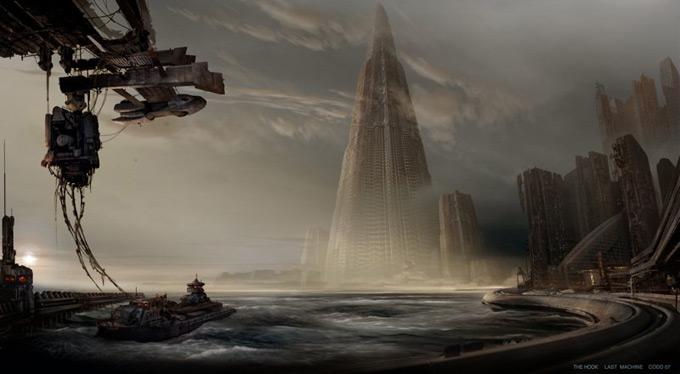Matt Codd Concept Art - Cityscape
