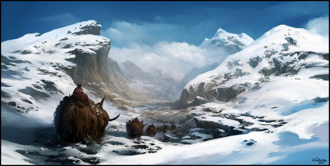 Andreas_Rocha_Concept_Art_Illustration_winter_travellers