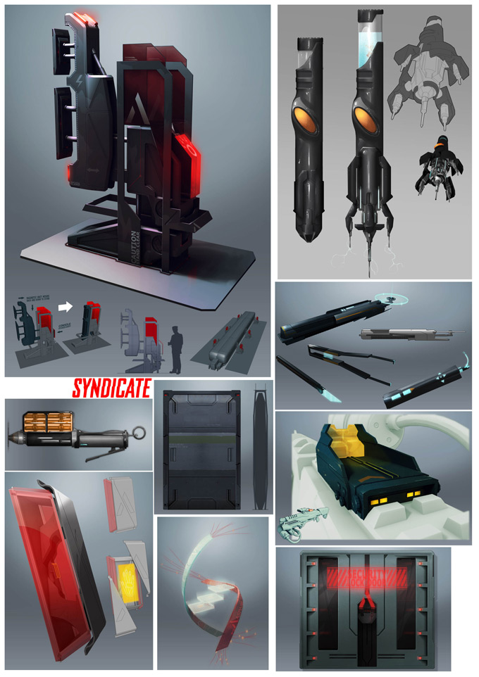 Syndicate Concept Art by Bradley Wright 03a