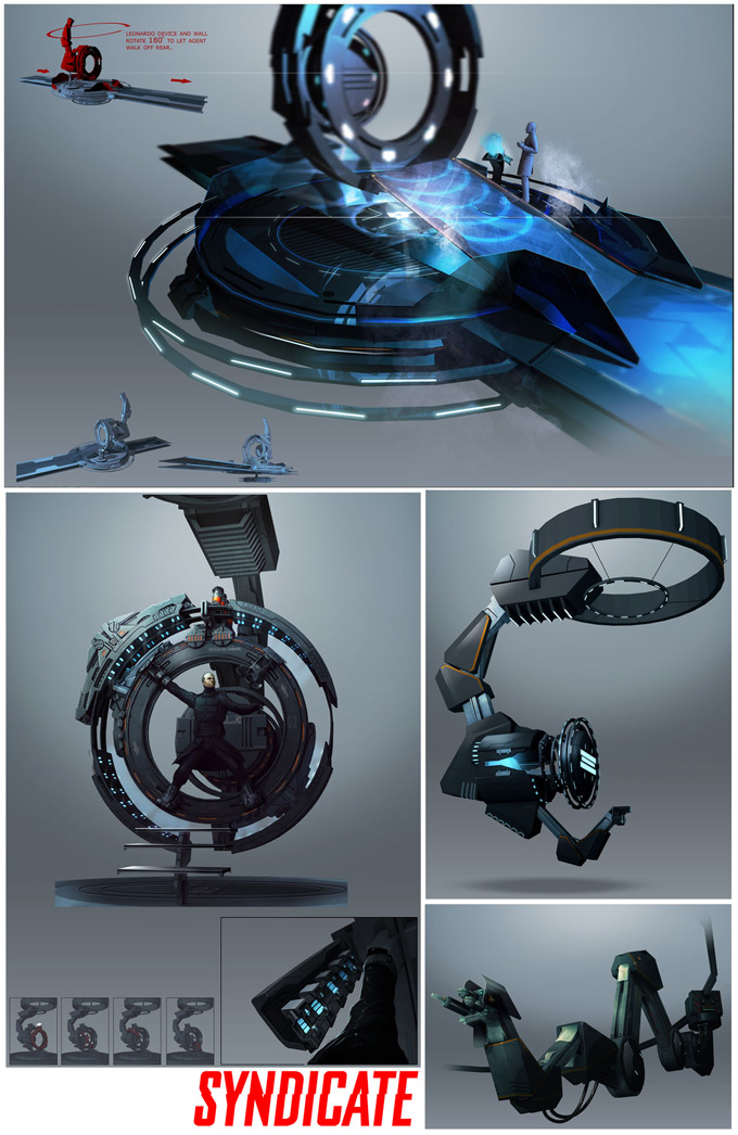 Syndicate Concept Art by Bradley Wright 14a