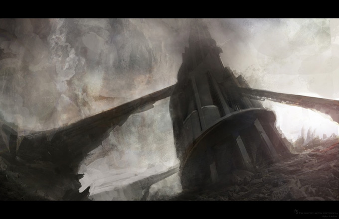Wrath of the Titans Concept Art by Aaron Sims Co 01a