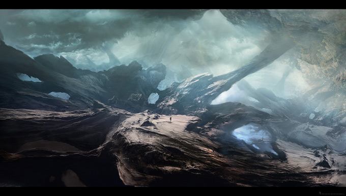 Wrath of the Titans Concept Art by Aaron Sims Co 08a