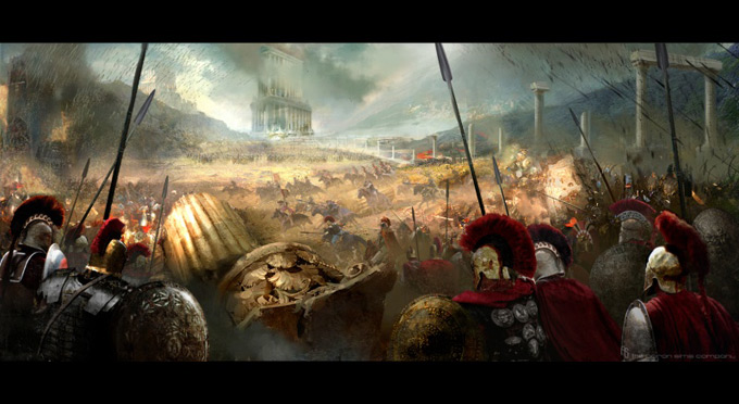 Wrath of the Titans Concept Art by Aaron Sims Co 11a