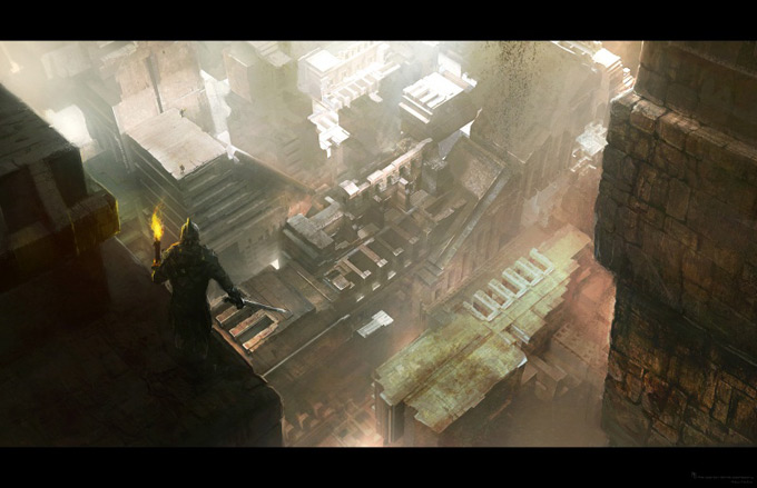 Wrath of the Titans Concept Art by Aaron Sims Co 14a