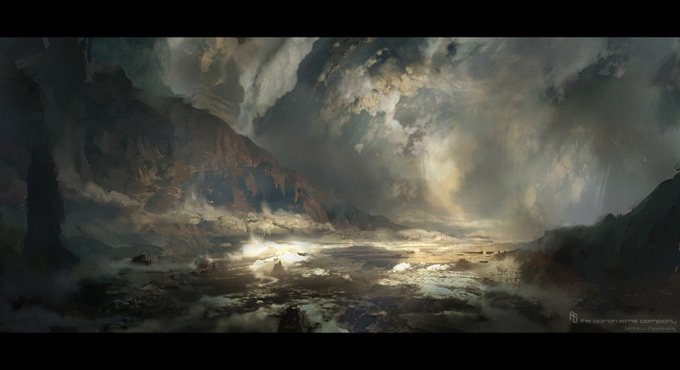 Wrath of the Titans Concept Art by Aaron Sims Co 18a