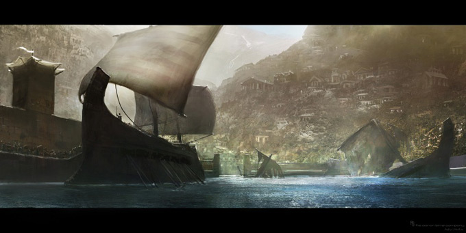 Wrath of the Titans Concept Art by Aaron Sims Co 21a