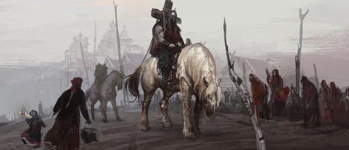Andrei Riabovitchev Concept Art