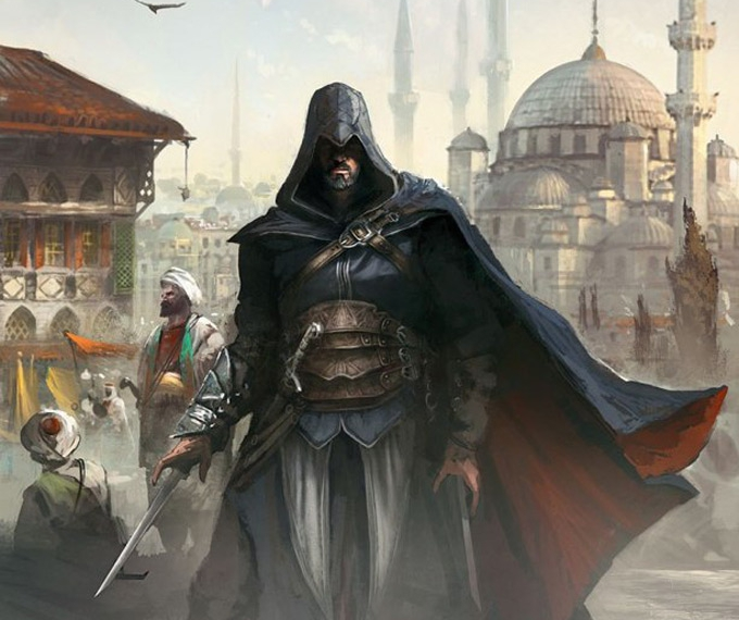Assassin S Creed Revelations Concept Art By Martin Deschambault