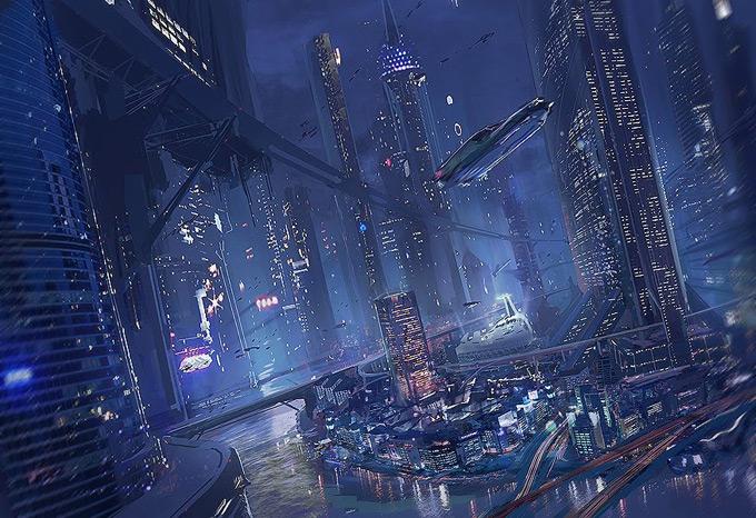 Города Будущего - Обои для рабочего стола скачать бесплатно Мир Будущего