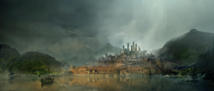 Gerhard Mozsi Concept Art and Matte Painting