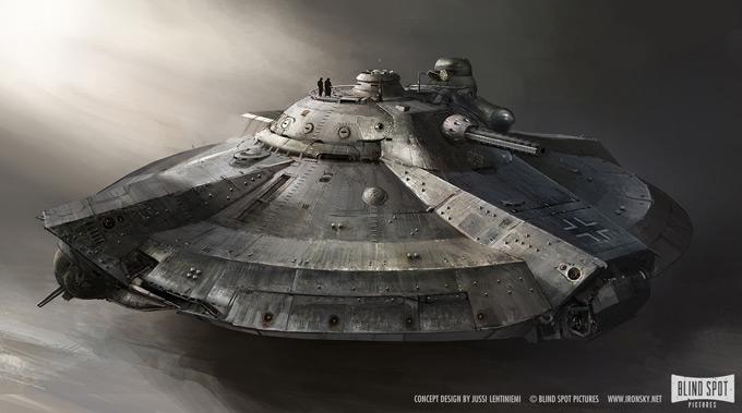Iron Sky Concept Art by Jussi Lehtiniemi