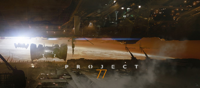 Project 77 Concept Art by Martin Deschambault