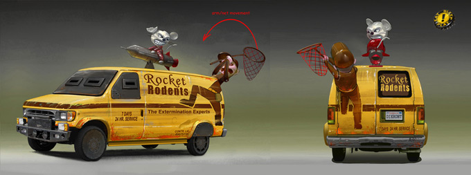 Twisted Metal Concept Art by Tyler West