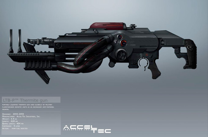Weapon Concept Art Bradley Wright