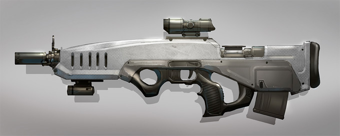 Weapon Concept Art Colin Geller
