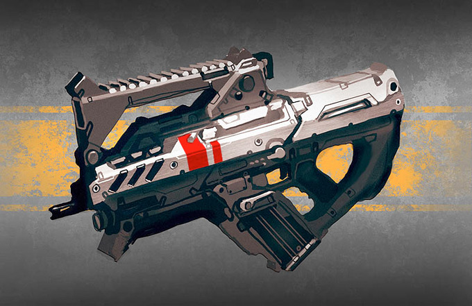 Weapon Concept Art Daniel Graffenberger