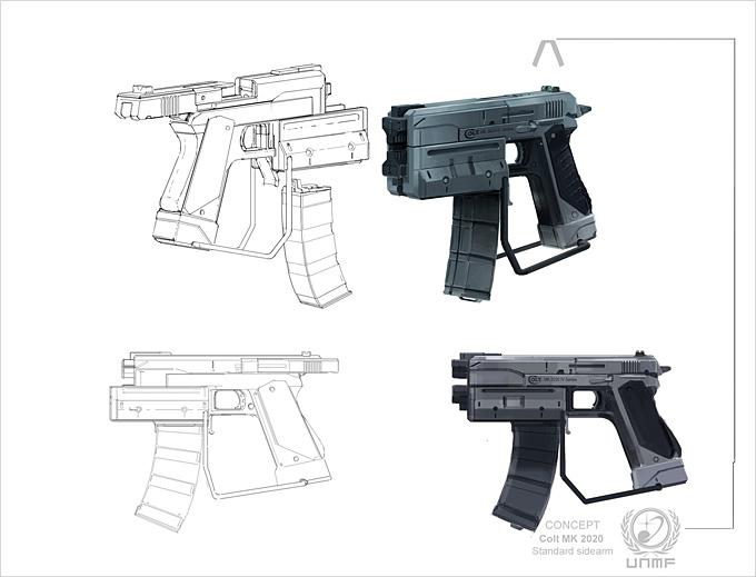 Weapon Concept Art Jesper Andersen