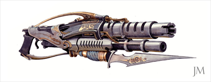 Weapon Concept Art Jim Martin
