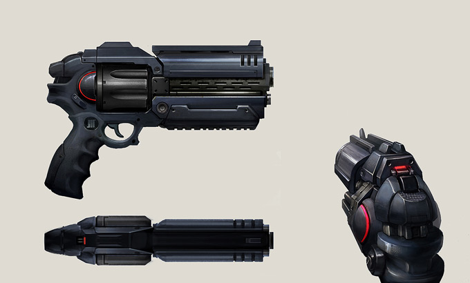 Weapon Concept Art Jos Kao