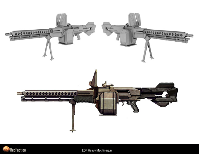 Weapon Concept Art Kemp Remillard