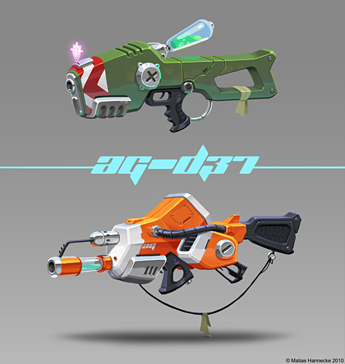 Weapon Concept Art Matias Hannecke