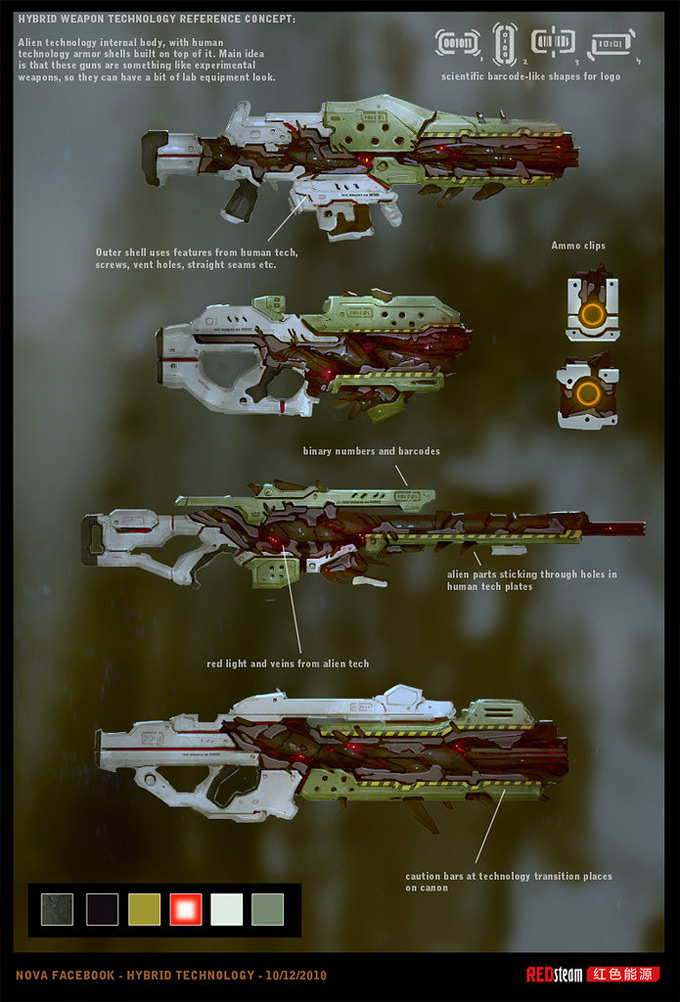 Weapon Concept Art Pavel Savchuk