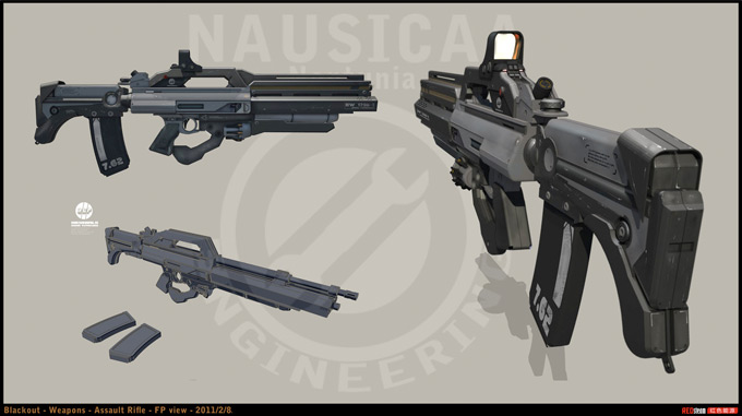 Weapon Concept Art Stanislav Poltavsky