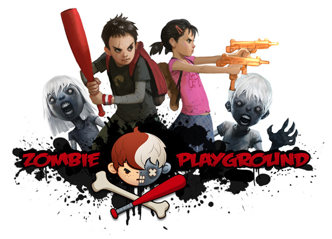 Zombie Playground Concept Art
