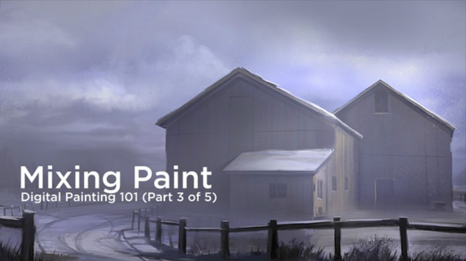 Crtl+Paint Concept Art Tutorials