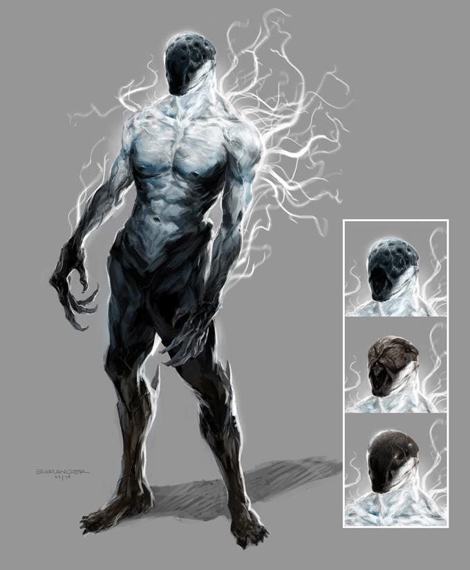 François Baranger Concept Art BLACK DEATH Diablo