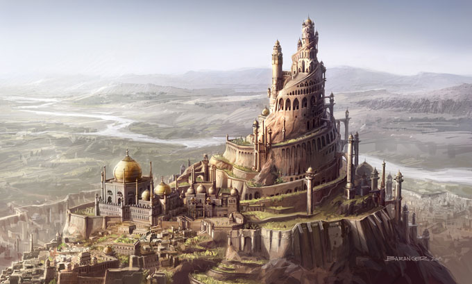 François Baranger Concept Art PRINCE OF PERSIA MOVIE