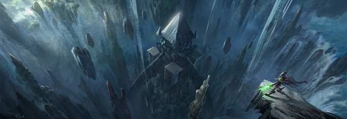 Graven Tung Concept Art The Temple Cave