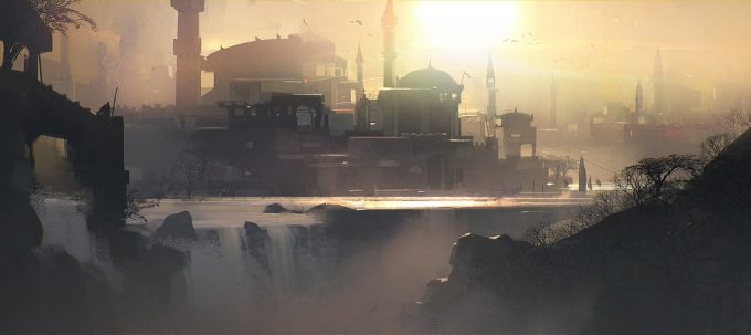 Jama-Jurabaev-concept-art-illustration-sunset