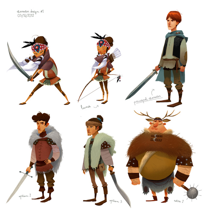 Illustrator Character Design Freelance : Júlia sardà concept art world