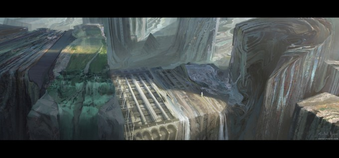 Saiful_Haque_Concept_Art_Memory_cavern