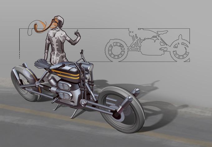 Andrian Luchian Concept Art