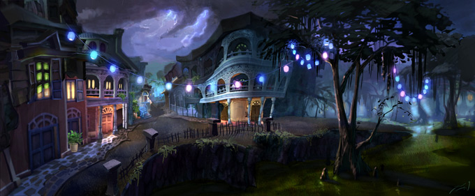 Epic Mickey Concept Art by Jordan Lamarre-Wan