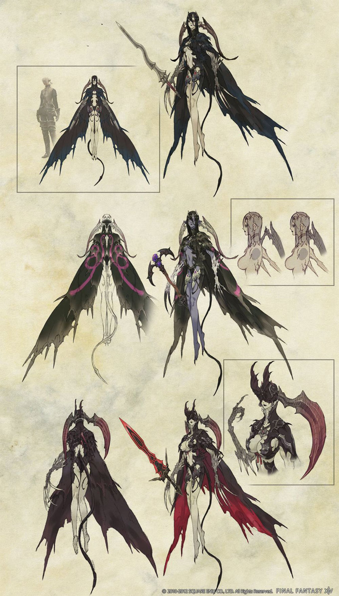 Final Fantasy XIV Online Concept Art