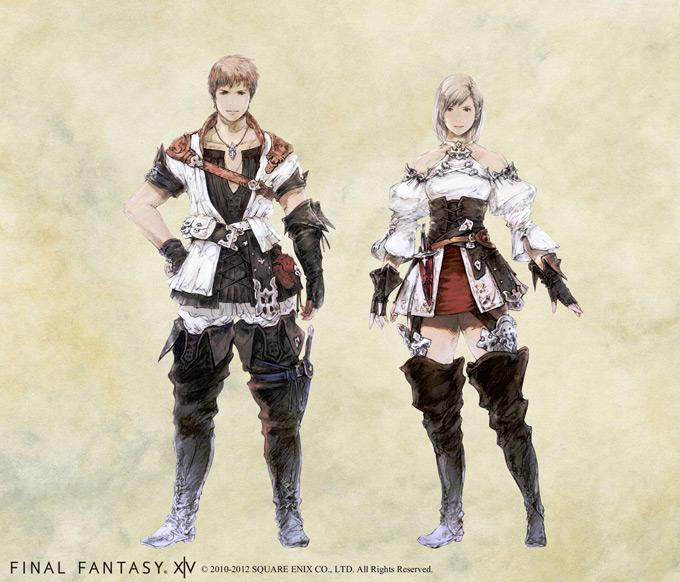 final fantasy xiv a realm reborn concept art and illustrations