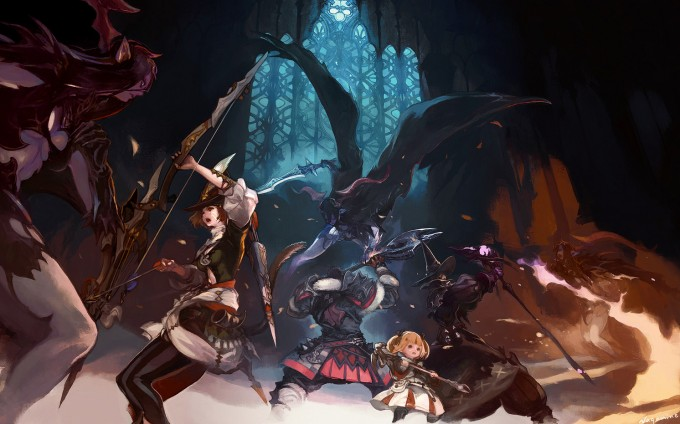 Final_Fantasy_XIV_A-Realm_Reborn_Illustration_Art_01