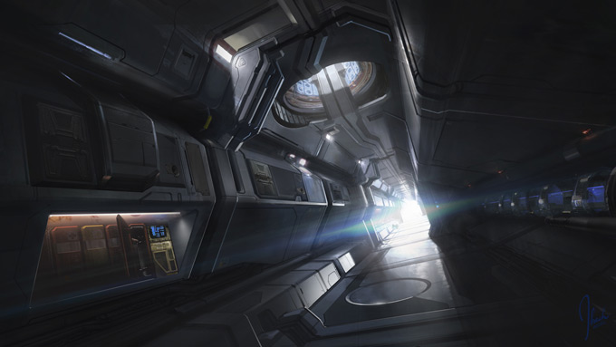 Halo 4 Live-Action Trailer Concept Art by Jonathan Bach
