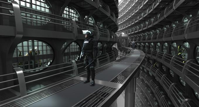 Men in Black 3 Concept Art by Raj Rihal