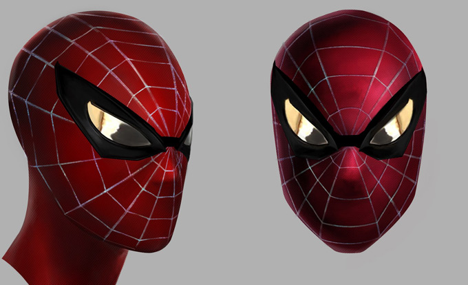 The Amazing Spider Man Suit Design Spider man