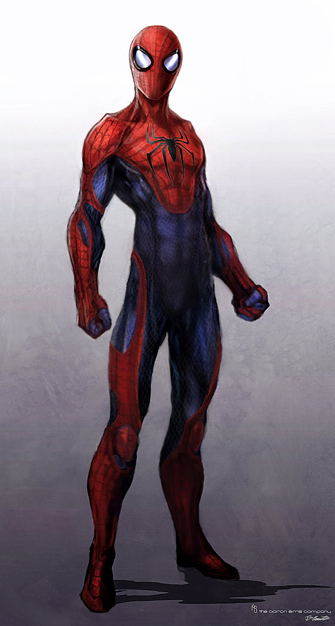 The Amazing Spider-Man Concept Art by Jerad S. Marantz